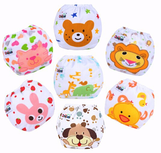 Baby Diaper Children Cloth Diaper Reusable Nappy Cover Training Pants Washable Free Size QD24