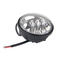 4 5 Inch 30W Professional Motorcycle Accessory For Harley Davidson Motorcycle Chrome LED Auxiliary Spot Fog
