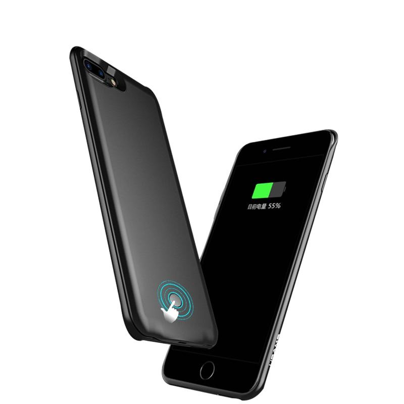 bilder für Für iphone 6 6s ladegerät fall 2500/3800 mah bewegliche energienbank pack externe unterstützungsbatterie fall abdeckung für iphone 7 6 6 s plus