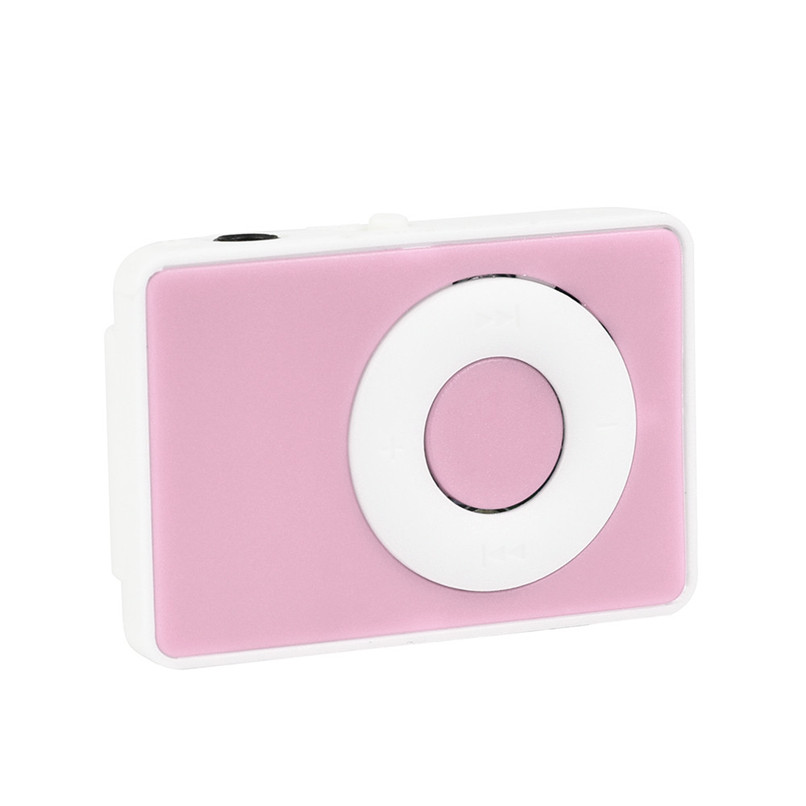 USB MP3 Music Media Player Support 32GB Micro SD TF Card Mini Clip Mini Fashion for Runnning Reading Best Gift H35