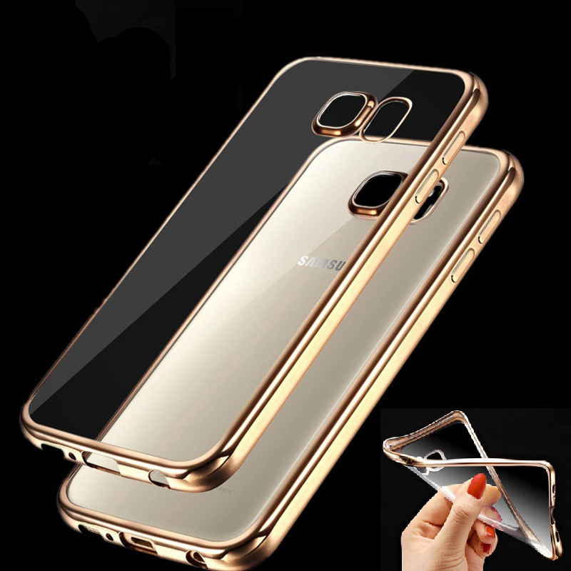Case voor Samsung Galaxy J3 J5 J7 2015 A3 A5 A7 2016 Grand Prime S5 S6 S7 Edge Fashion Luxe Hoge Kwaliteit Plating Design Cover