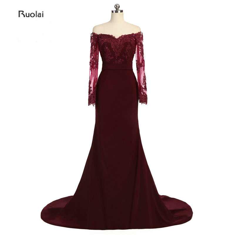 Cheap Wedding Dresses Colorado Springs: Elegant Burgundy Bridesmaid Dresses 2017 Boat Neck