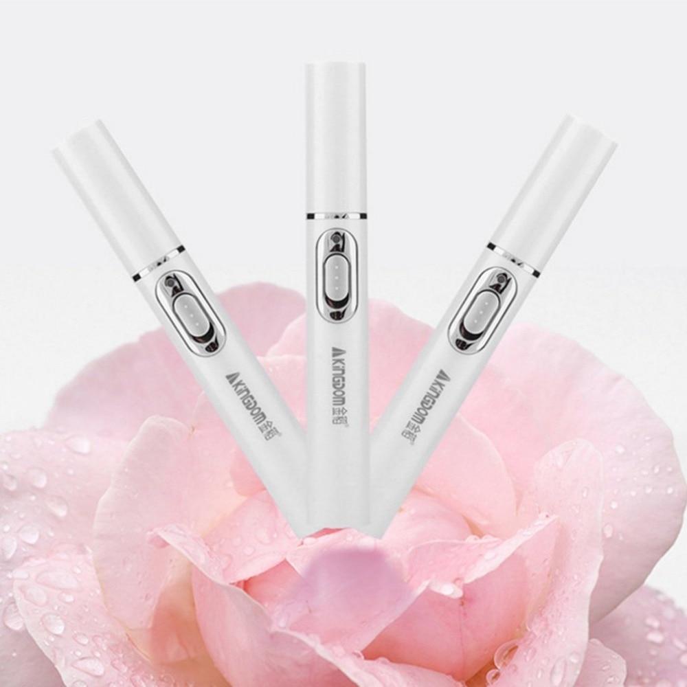 KD-7910 Akne Laser Stift Tragbare Falten Entfernung Maschine Dauerhaften Weichen Narbe Entfernung Gerät Blau Lichttherapie Stift Gesicht Hautpflege
