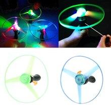 Бумеранг спин нло тарелка летающая фрисби вертолет игрушка светодиодные открытый игрушки