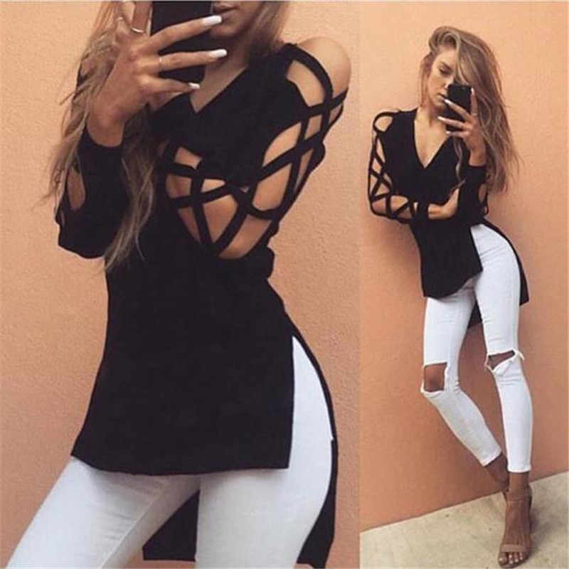 KANCOOLD tops hoge kwaliteit Katoen Fashion girl Casual Club Sexy Holle Mouw t-Shirt zomer tops voor vrouwen 2018 ap27