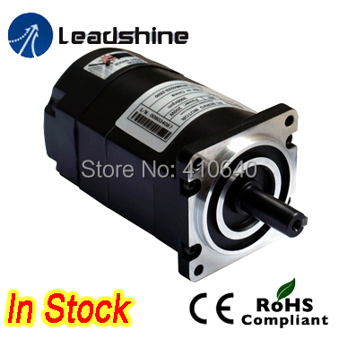 Free Shipping Leadshine ACM601V36 100W Brushless AC Servo Motor,with 2,500-Line Encoder and 4,000 RPM  Speed leadshine 200w brushless ac servo drive and motor kit acs806 acm602v60 2500 new
