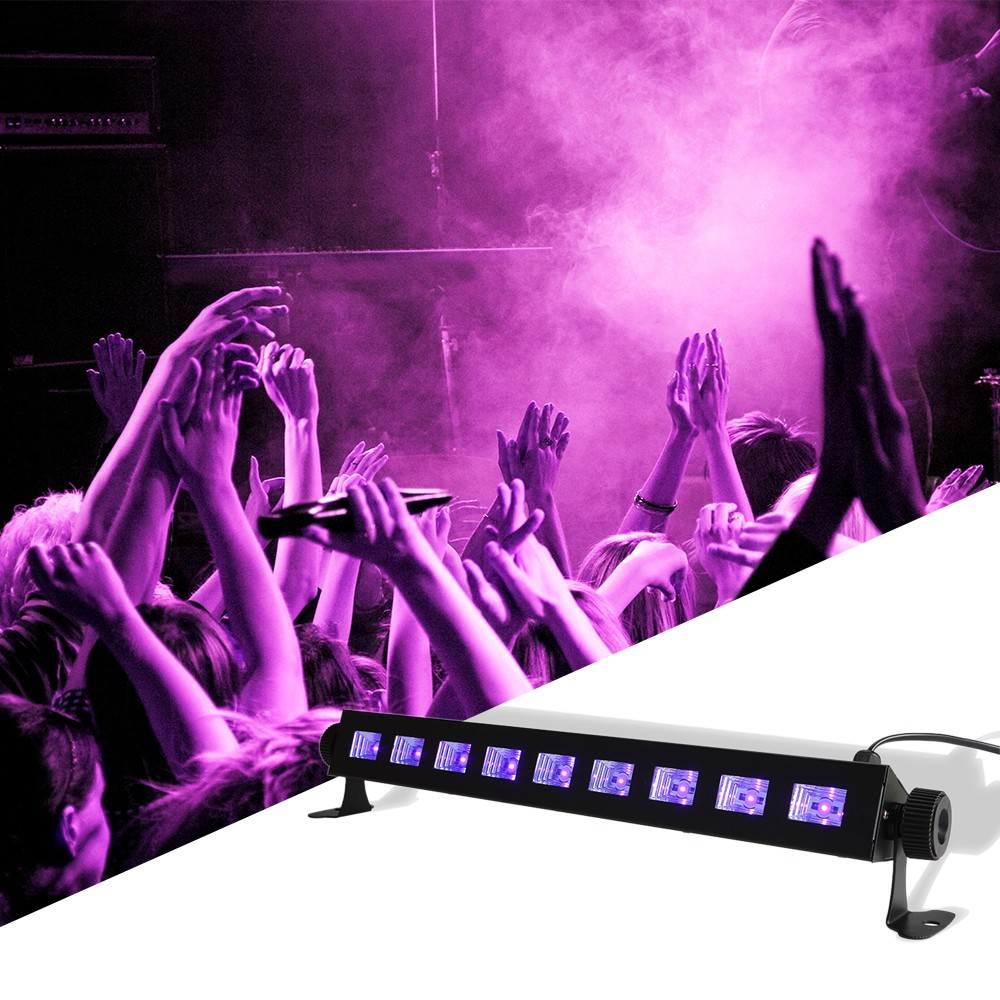 9 LED Disco UV Violet Black Lights DJ 27W Par Lamp UV For Party Christmas Bar Lamp Laser Stage Wall Washer Spot Light free ship9 LED Disco UV Violet Black Lights DJ 27W Par Lamp UV For Party Christmas Bar Lamp Laser Stage Wall Washer Spot Light free ship