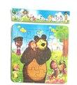Милые Марта и Медведь Мультфильм головоломки детские образовательные игрушки подарок на день рождения