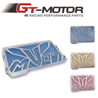 GT Motor Motorcycle Aluminium Radiator Side Guard Grill Grille Cover Protector For Yamaha MT07 MT 07
