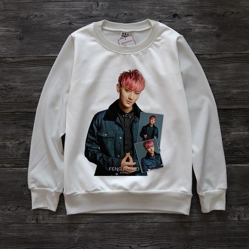 2020 NEW EXO Kpop TAO 3D Cartoon Parint Winter Round Neck Hoodies Women/Men Fans Streetwear Sweatshirts Harajuku Female Clothes