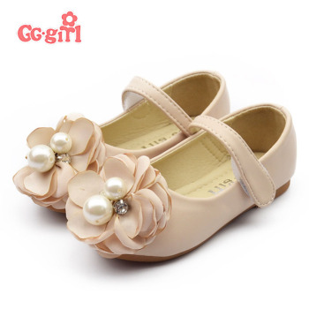 New Spring Summer children's sandals Genuine leather single shoes kids child girls princess bowtie flat shoes a3831-a80