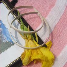 Оптовая продажа 10 мм Широкий пластиковый обруч для головы резинки