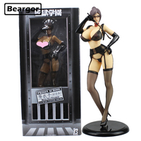 16 Kangoku Gakuen Prison School Meiko Shiraki Underware ver. Boxed 41cm PVC Anime Sexy Girl Action Figure Model Doll Toys Gift