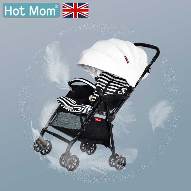 Hot Mom Baby Stroller Super Light Pram Safety and Portable Folding конверт cherry mom cherry mom mp002xc000vl