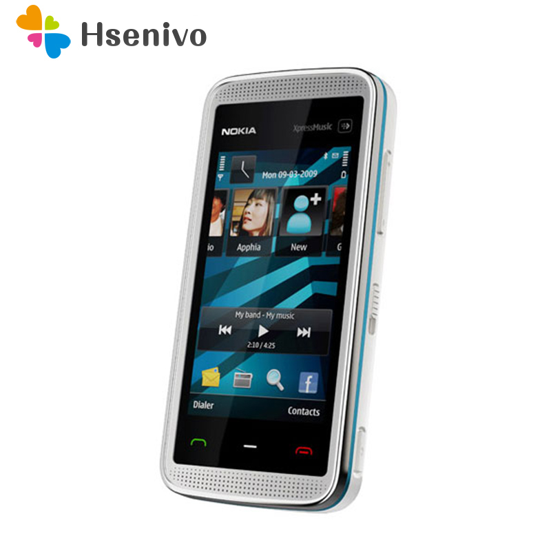 5530 100 Original Nokia 5530 XpressMusic original phone unlocked quad band FM Radio GSM Symbian cellphone
