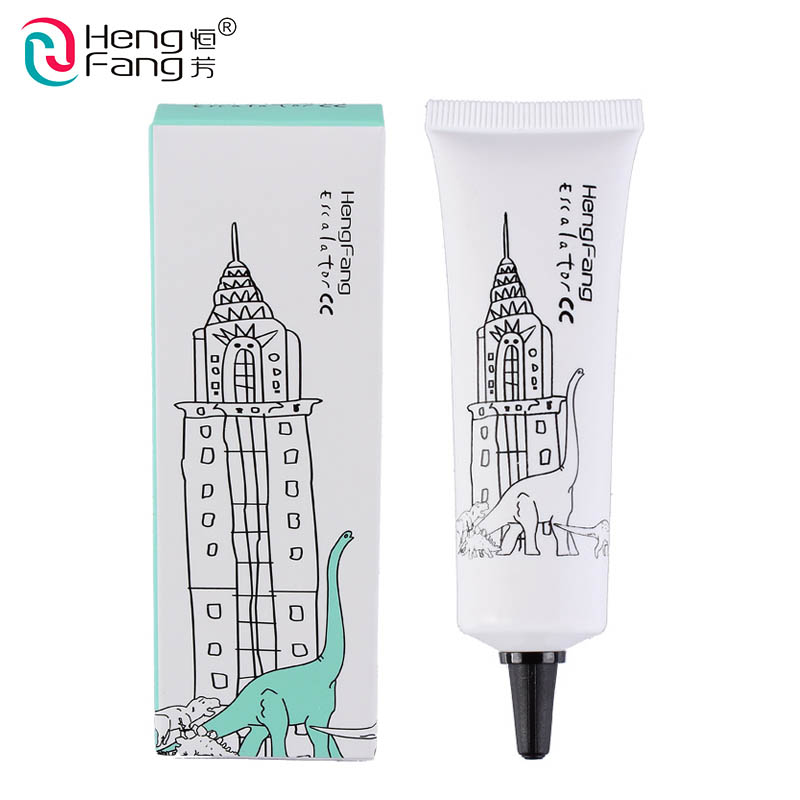 New Arrival HengFang Zoo Series Magic color BB Cream moisturizer CC Cream Hydrating 3 Colors Face Care 30g #H8434