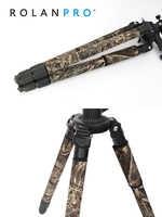 ROLANPRO Fabrik Direkt Mode Persönlichkeit Stativ Mantel Camouflage Hülse/Bein Einfrieren Für Gitzo Manfrotto Benro RRS Sirui