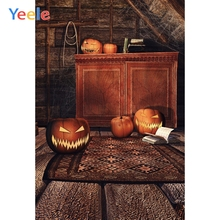 Yeele Halloween Party Family Photocall Decor Pumpkin Photography Backdrop Personalized Photographic Backgrounds For Photo Studio