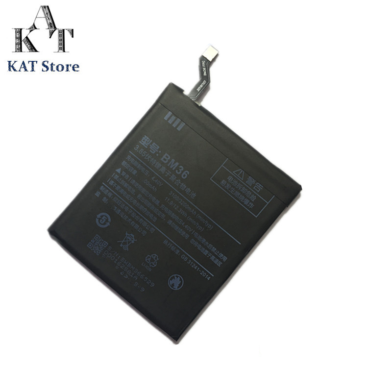 Phone-Battery-Bm36 Lithium-Polymer-Bateria Mobile-Phone Xiaomi 3200mah Original Ce