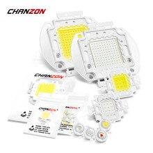 Высокая мощность LED COB лампы Чип 1 Вт 3 Вт 5 Вт 10 Вт 20 Вт 30 Вт 50 Вт 100 Вт Теплый Холодный белый красный зеленый синий квадратный световой матричный интегрированный