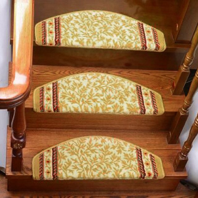 1 piece stair mat non slip carpet hotel decoration printed bathroom carpets bedroom dustproof stair