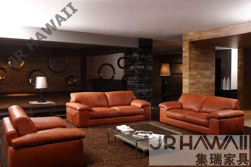 High Quality Leather Sofa Modern Living Room Furniture Home Feather Set 1 2 3 Seater