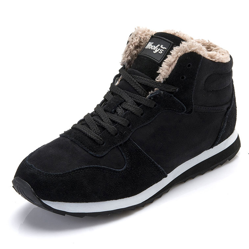 Women Boots Mujer Botas Ankle Boots Snow Boots Winter Shoes for Women Shoes Leather Winter Boots High Quality Solid Plush Shoes sexemara brand 2016 new collection winter boots for women snow boots genuine leather ankle boots top quality plush botas mujer