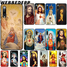 WEBBEDEPP Virgin Mary Christian Soft TPU Case Cover for Xiaomi Mi 6 8 A2 Lite 6 9 A1 Mix 2s Max 3 F1 Case webbedepp little mix soft tpu case cover for xiaomi mi 6 8 a2 lite 6 9 a1 mix 2s max 3 f1 case