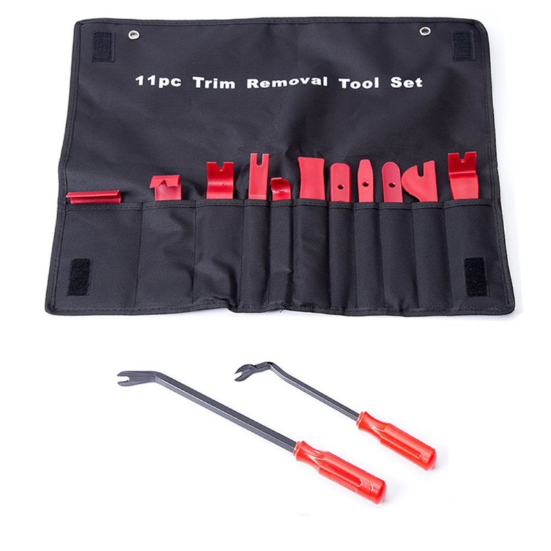 Car Auto Upholstery Tools Strong Nylon Door Molding Dash Panel Trim Tool Kit Clip Pliers Fastener Remover