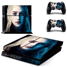 Game of Theones Vinyl Decal PS4 Skin Stickers Wrap for Sony PlayStation 4 Console and 2 Controllers Decorative Skins