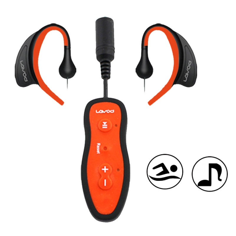 8GB Sports Waterproof  MP3 Player Special For Swimming Diving Surfing With Waterproof Earphone For Men Women