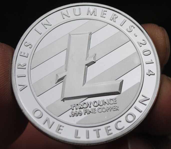 40 мм один 1 литецин 2014 Серебряный посеребренный сувенир медаль