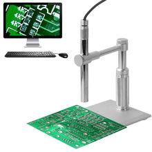 Cheapest prices 500x Zoom Digital Microscope 2MP USB Microscope PCB Inspection Camera Pen Endoscope Loupe with 8LED Light for Circuit Repair