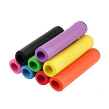 Набор цветных мягких ручек из губки для горного велосипеда новые импортные силиконовые противоскользящие велосипедные аксессуары Высокое качество