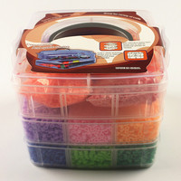 Kid Educational Toys 11000 Pcs Hama Beads 5MM Perler Beads 15 Colors Box Set Puzzles Toys