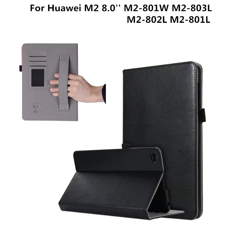 Case For Huawei MediaPad M2 8.0 M2-803L M2-802L Protective Business Stand cover PU Leather Tablet For HUAWEI M2-801W M2-801L цена и фото