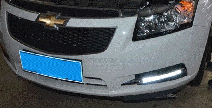 New!!! 2009-13 Cruze LED DRL Daytime Running Light 9 chips super bright with yellow turn light function top quality социологический ежегодник 2009 page 9