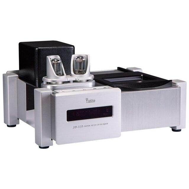 R-036 YAQIN SD-35A Stereo Audio Vacuum Tube HDCD CD Player 6N8Px2 Top LoadingValve 32A 120V-240V Signal Upgrade Buffer Processor