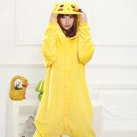 NEW Family Christmas Pajamas Cartoon Sleepwear Pikachu Warm Animal Pajama Women Pajama Flannel Pajama Stitch Unicorn