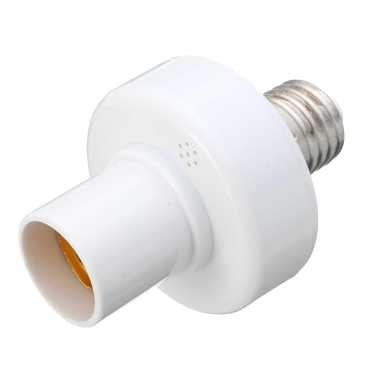3 шт. E27 винт беспроводной пульт дистанционного управления светильник лампа держатель колпачок гнездо переключатель конвертер сплиттер адаптер AC110V/180-240 В