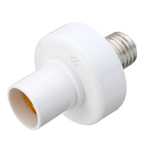 Image 5 - 3 pièces E27 douille vis sans fil télécommande lampe porte ampoule capuchon interrupteur convertisseur séparateur adaptateur AC110V/180 240 V