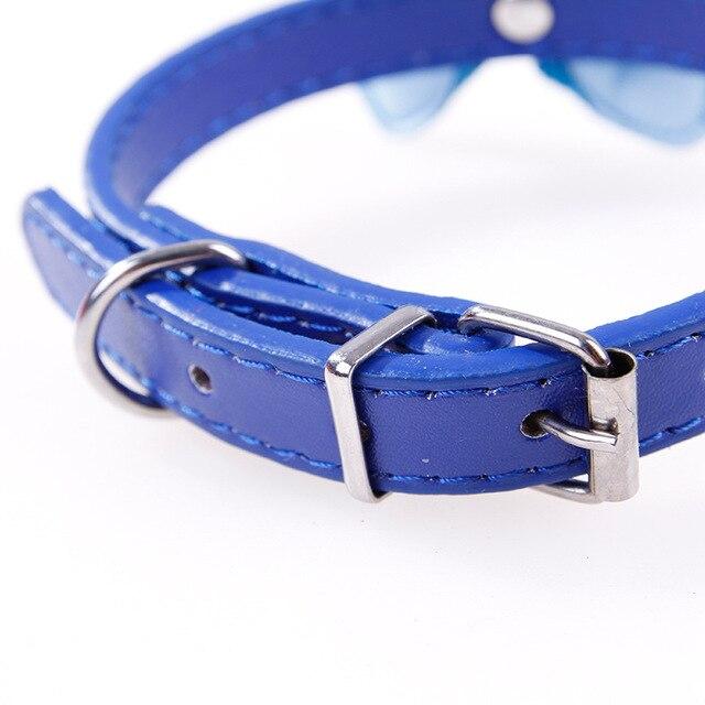 Grande Bowknot Del Collare Per Il Cane Cane di Animale Domestico Accessori Decorazione del Collo Carino Gatto Collare di Cane Forniture Per Animali Da Compagnia Piccolo Negozio di Animali Puppy Cani di Piccola Taglia collare