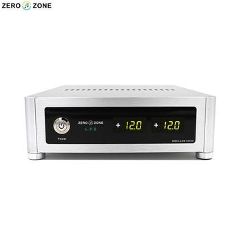 GZLOZONE Finished S100 HI-END 2 Way Linear Power Supply 12V+12V (2A) Ultra-low Noise LPS