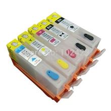 vilaxh  564 564xl Empty Refillable Ink Cartridge For HP Photosmart C5380 C5460 C6300 C5340 C6350 C6380 C309A B8550 D5460