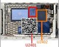 5 пар/лот = 10 шт. Оригинальный новый для iPhone 6 для iphone6 plus 6 + 6 P сенсорный экран управления IC U2402 343S0694 + U2401 BCM5976