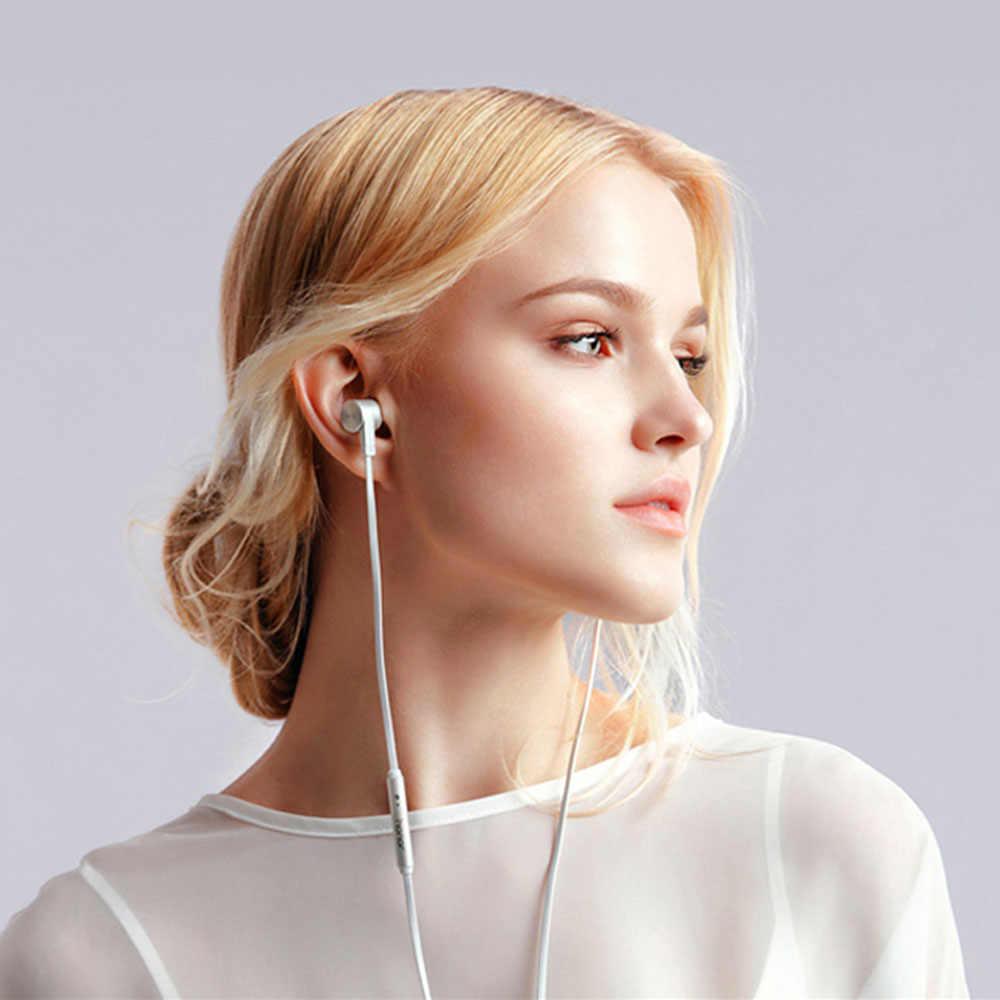 Oryginalny marka Huawei Honorde AM13 Honor słuchawki z Micrphone douszne lepszą jakość dźwięku zestaw słuchawkowy dla Huawei Xiaomi