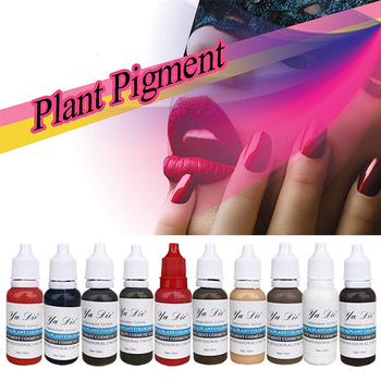 22 Bottles Of Tattoo Ink 1 2oz Pigment Permanent Makeup Easy To Wear Eyebrows Tattoo Color Lip Art Paint Tattoo Beauty Tools Buy At The Price Of 48 82 In Aliexpress Com Imall Com