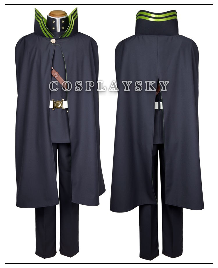 Seraph of the End Owari no SerafuYuichiro Hyakuya Uniform Cosplay Costume_02