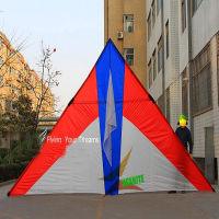 free shipping high quality large 10square meters delta kite reel line power kite flying pipa parachutes octopus kite parafoil
