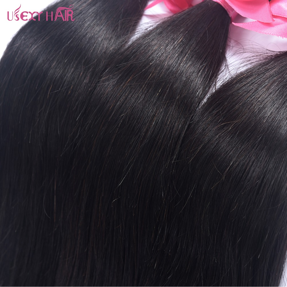 Usexy Hair Peruvian Straight Hair Bundles Human Hair Extensions 13